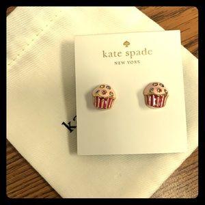 NWT Kate Spade Cupcake Earrings